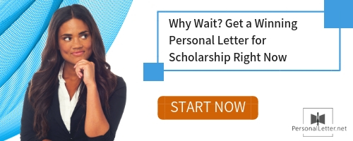 personal letter for scholarship