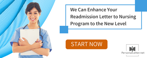 readmission letter for nursing program tips