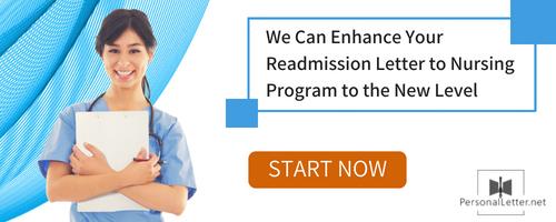 readmission letter for nursing program tips
